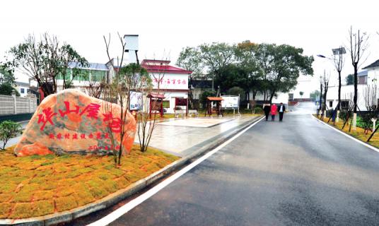 """依""""塘""""建公园,村里铺设环湖步道"""