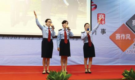 浏阳市国税局创建全国文明单位纪实