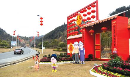 多处春节文化景观亮相,扮靓浏城迎春节