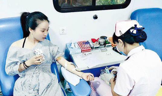 """急奔三百公里,江西""""老表""""来白小姐中特网献血"""