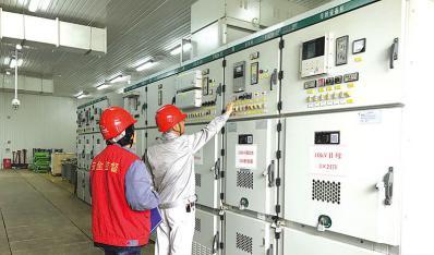 110千伏紫薇变电站提前两月竣工投产