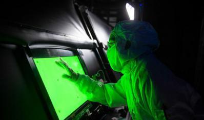 湖南首塊中大尺寸液晶顯示屏在瀏點亮