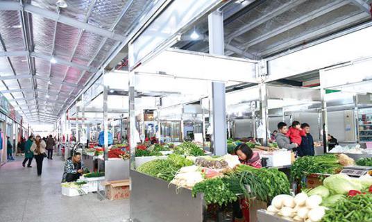 """浏阳市农副产品大市场重装开业,可批发可零售还有""""自产自销区"""""""